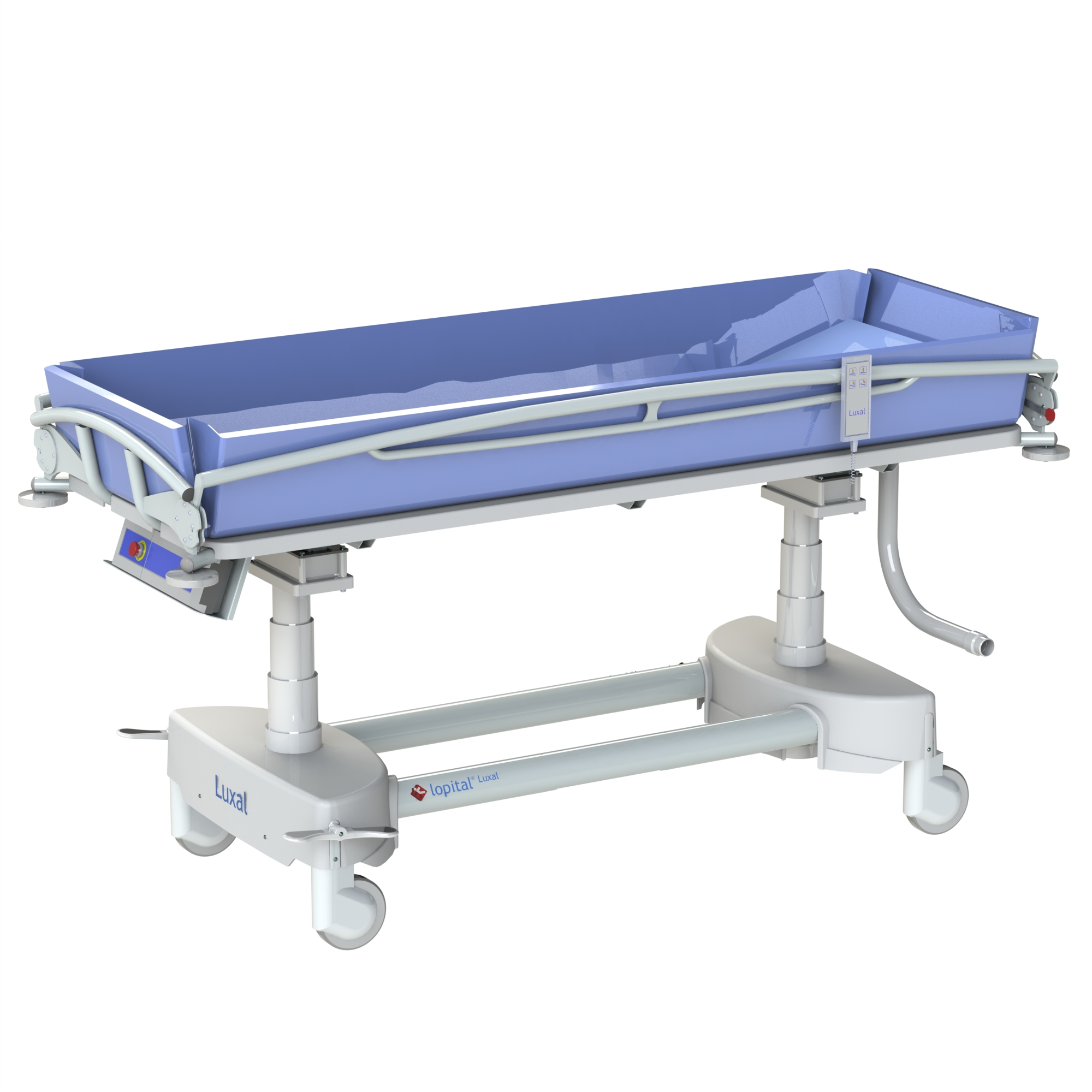 beds akron medical couches int treatment streamline mobile products height shower arjo variable clinical arjohuntleigh trolley
