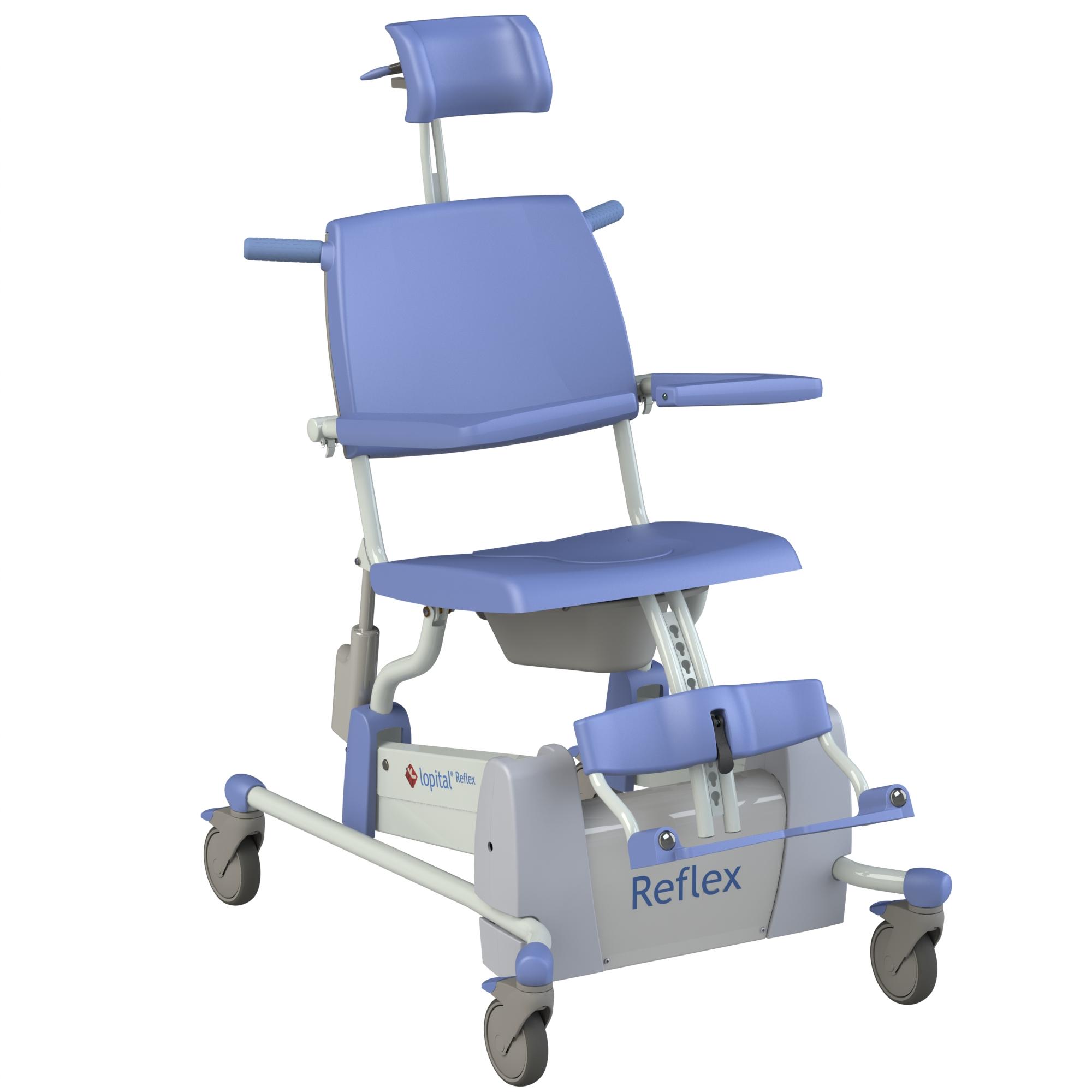 Reflex Shower and Toilet Chair Caretua Ltd
