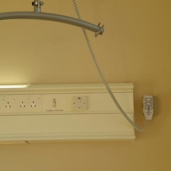 Another successful overhead track hoist installation - Caretua Ltd