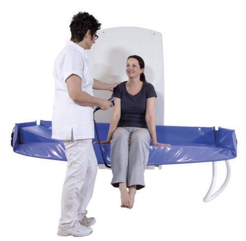 Sirocco Shower Trolley
