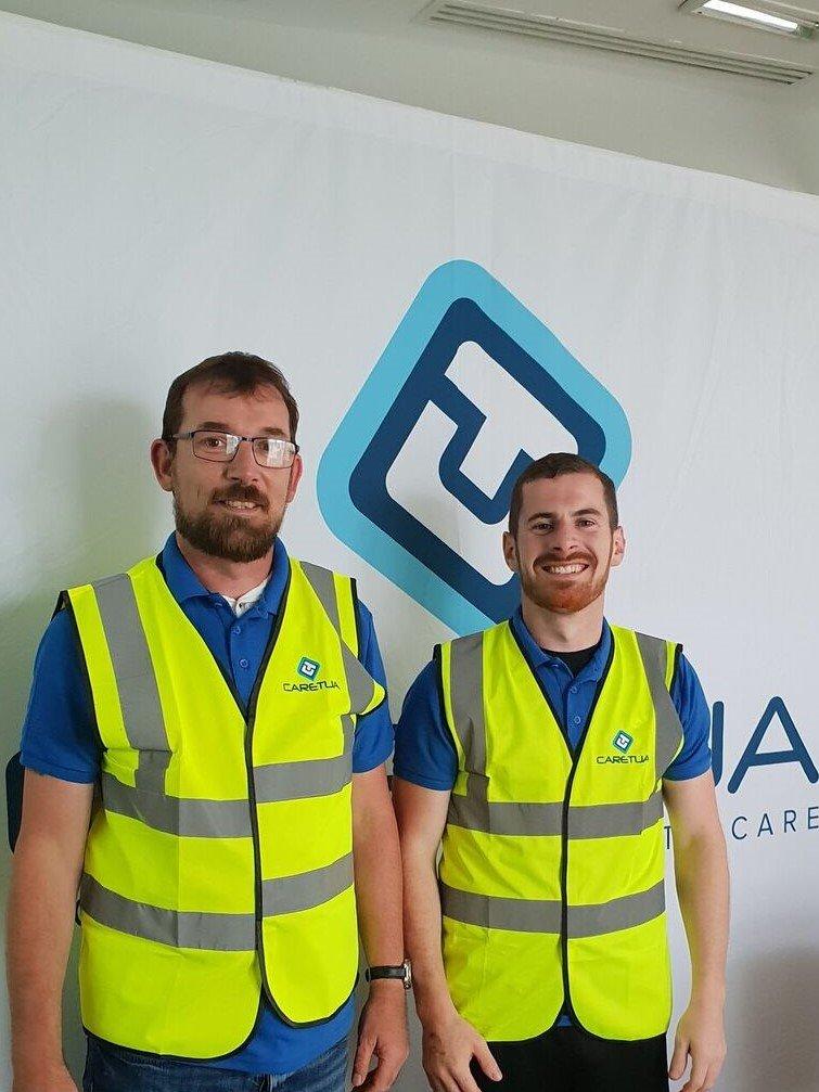 Caretua Install team 2